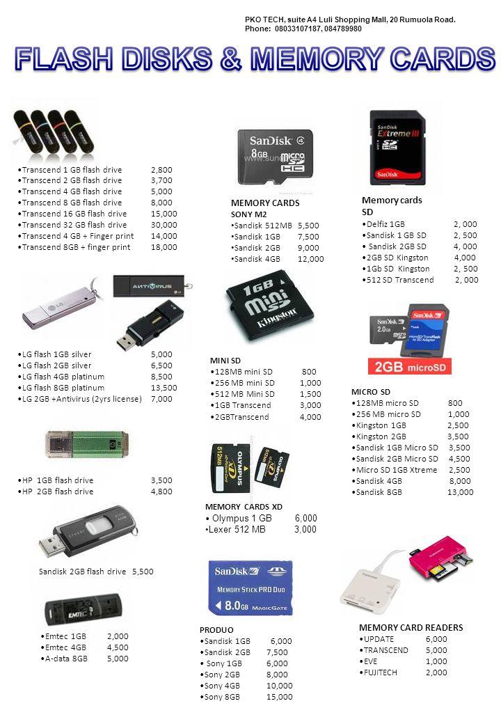 VOICE RECORDERS CENIX W950 (1GB) 15, 000 CENIX W950 (2GB) 17, 000 CENIX W2340 (1GB) 13, 000 PKO TECH, suite A4 Luli Shopping Mall, 20 Rumuola Road.