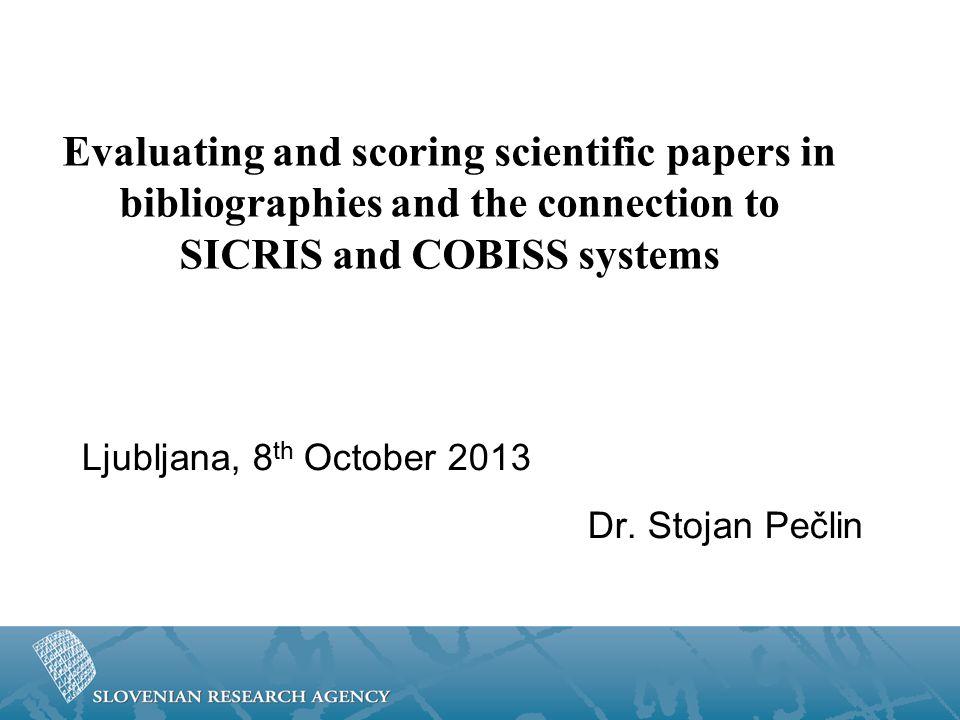 Sources of Quantitative Data - COBISSCOBISS