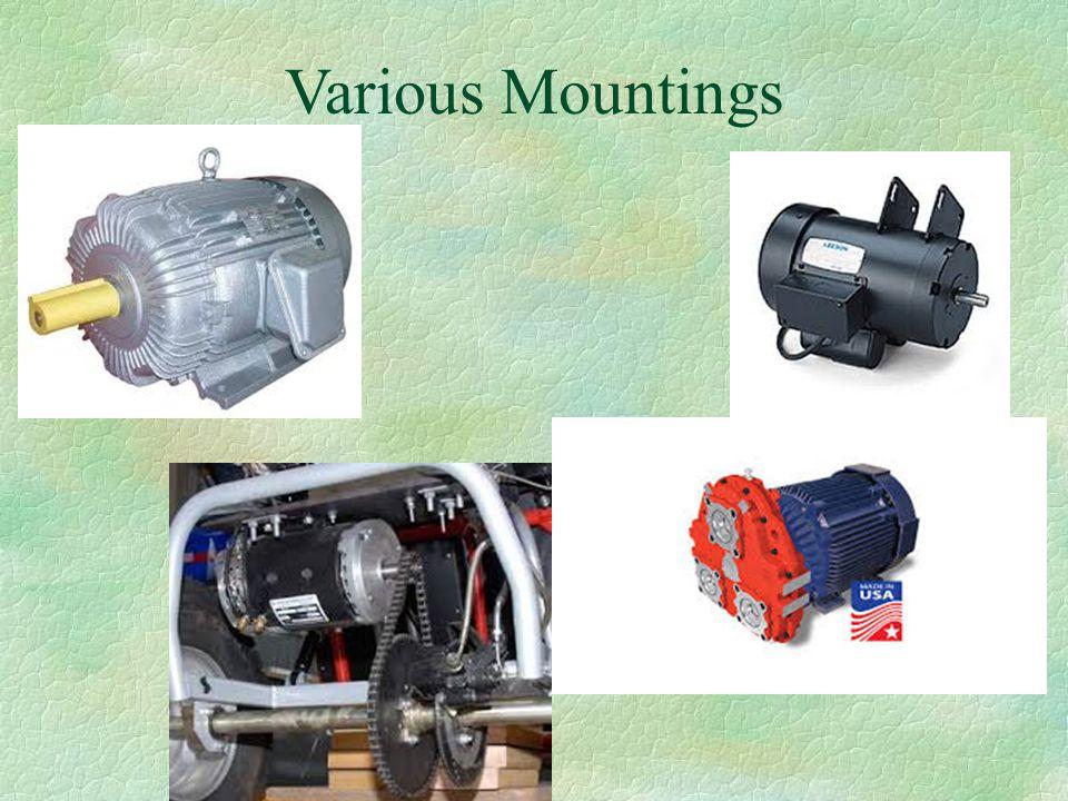 Various Mountings
