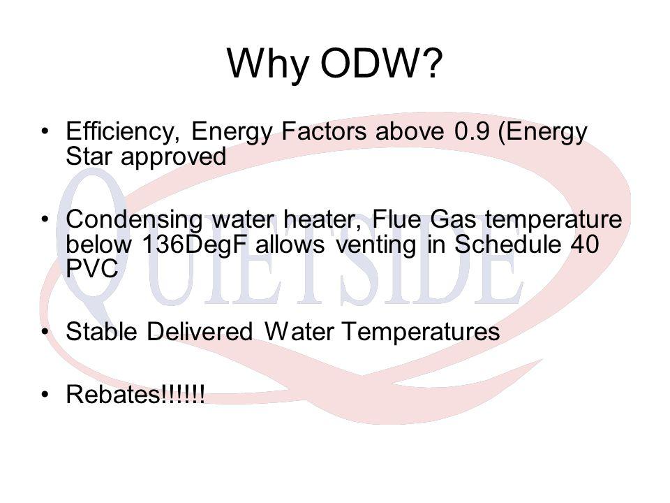 Why ODW.