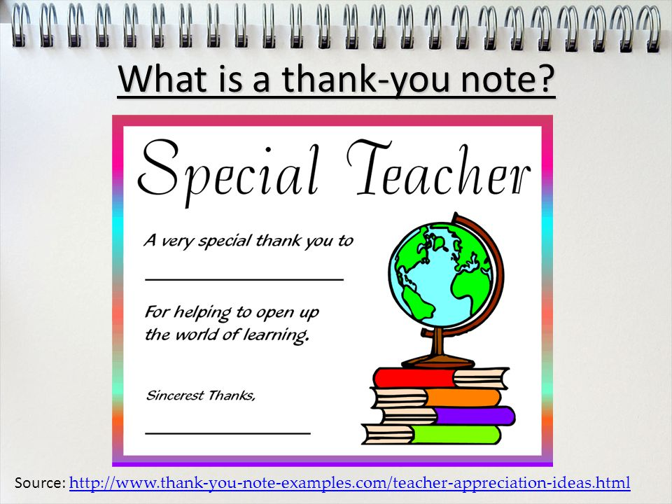Source: http://www.thank-you-note-examples.com/teacher-appreciation-ideas.html http://www.thank-you-note-examples.com/teacher-appreciation-ideas.html