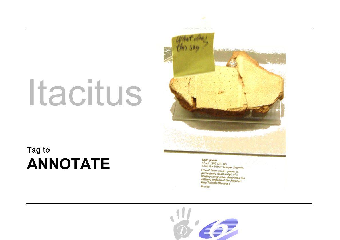 ANNOTATE Tag to Itacitus