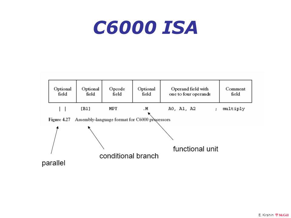 E. Kirshin C6000 ISA