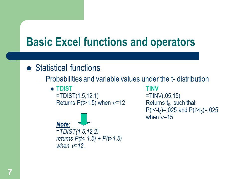 18 Using Excel Solver –Sensitivity Report