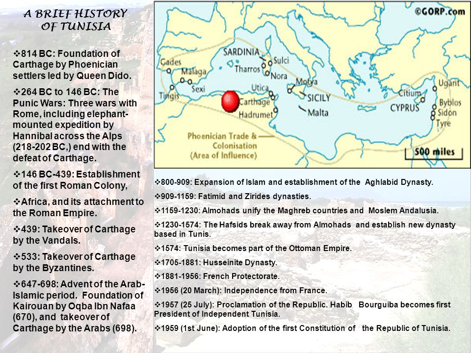  800-909: Expansion of Islam and establishment of the Aghlabid Dynasty.