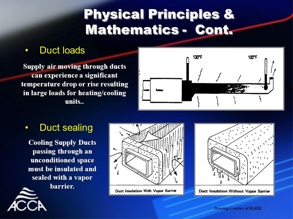 Physical Principles & Mathematics - Cont.