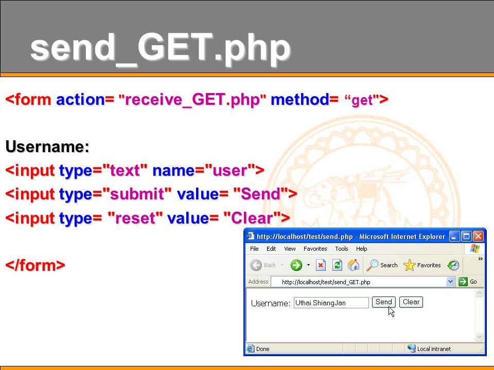 24 send_GET.php Username:
