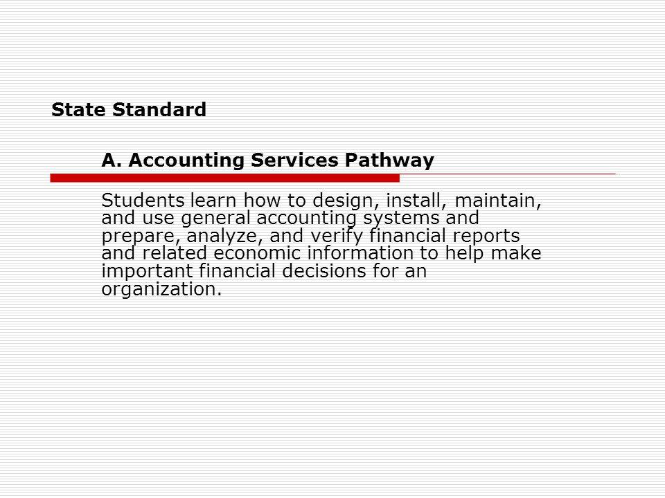 State Standard A.