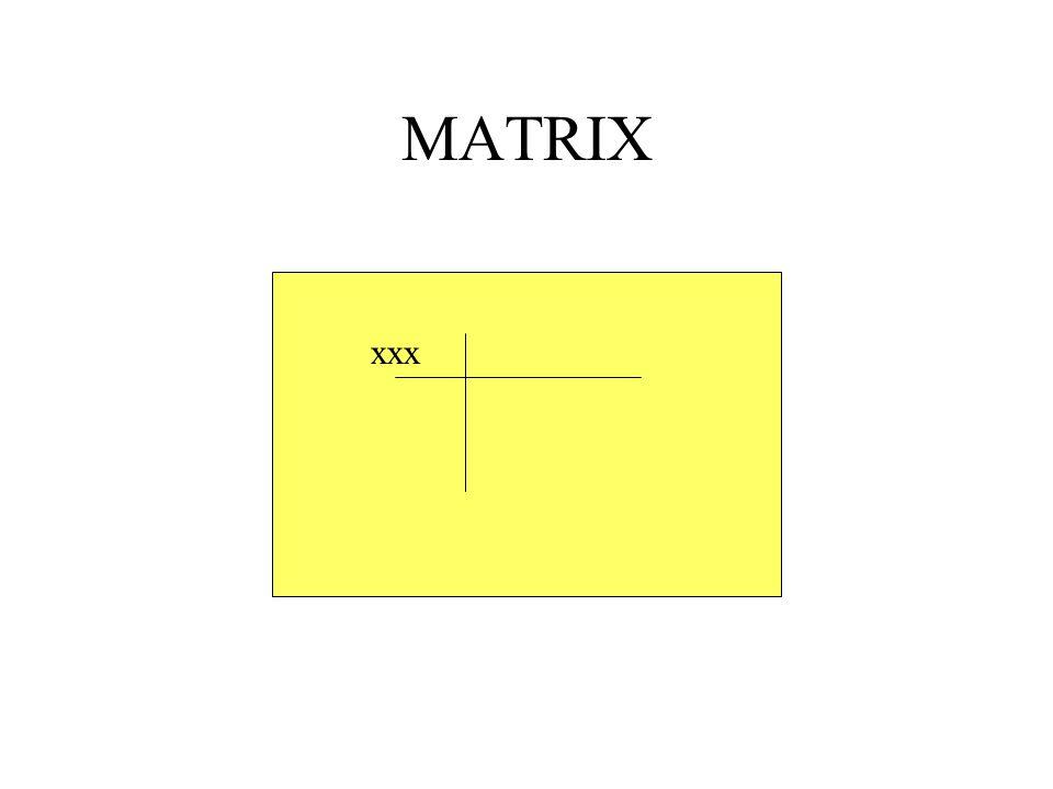 MATRIX xxx
