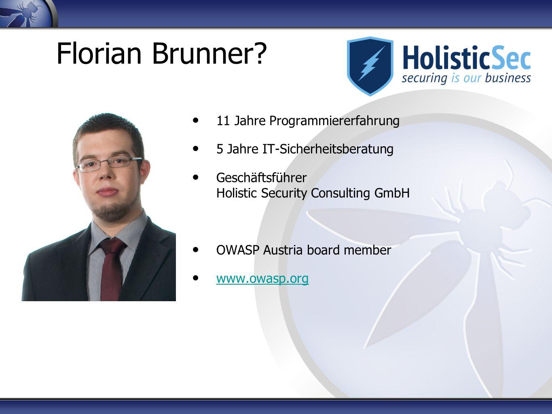 Florian Brunner.