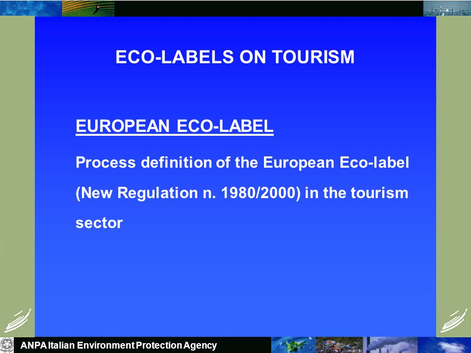 Tools for Implementation ENVIRONMENTAL QUALITY LABELS MARKET ORIENTED BASED ON LIFE CYCLE APPROACH STAKEHOLDERS INVOLVEMENT ACTION BOTH ON SUPPLY AND