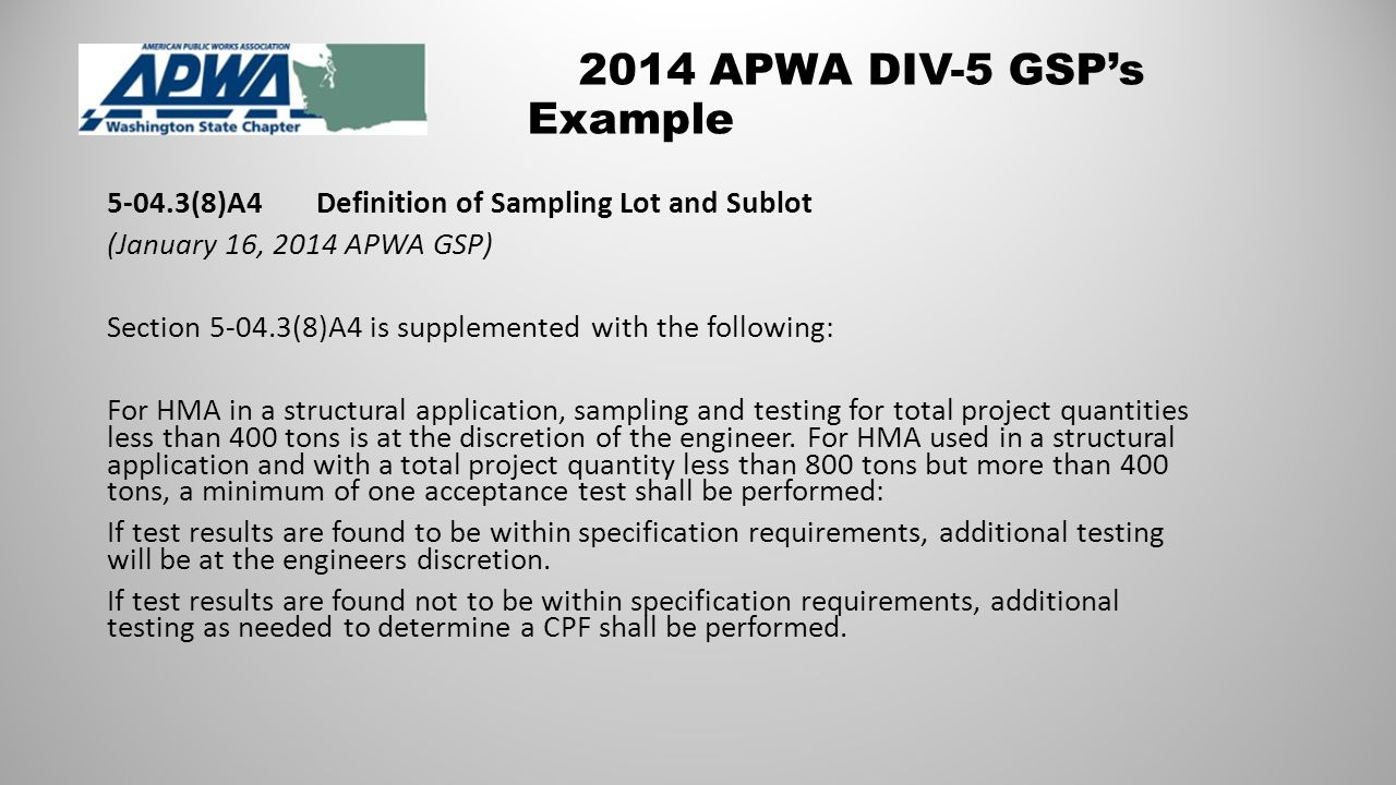 Going Forward Continue to gather Feedback about current APWA Div.
