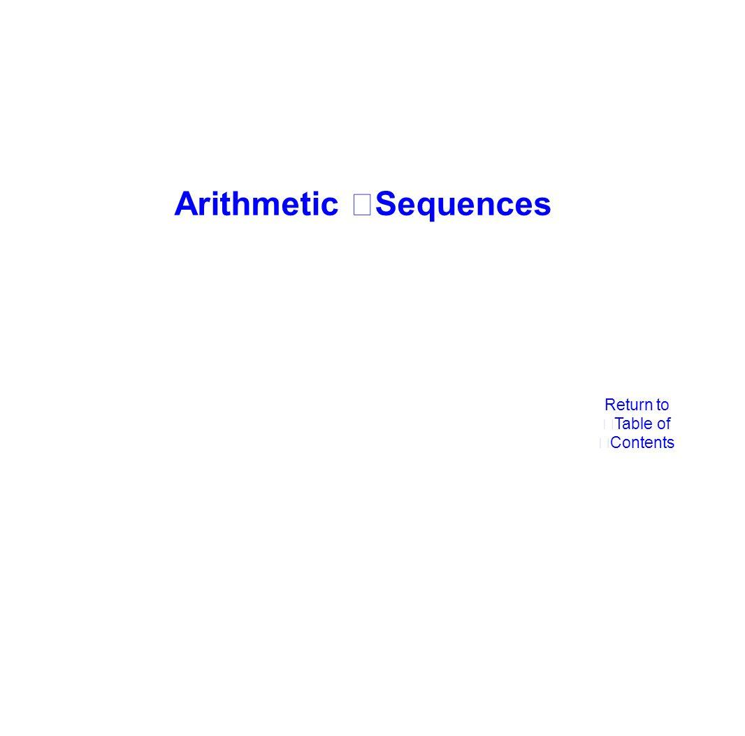 a1 = 6, an = an-1 +7 a1 =10, an = 4an- 1 a1 = 12, an = 2an- 1 +3 6 a110 a1a1 12 13 a240 a2a2 27 20 a3160 a3a3 57 27 a4640 a4a4 117 34 a52560 a5a5 237 The recursive formula in the second column represents a Geometric Sequence.
