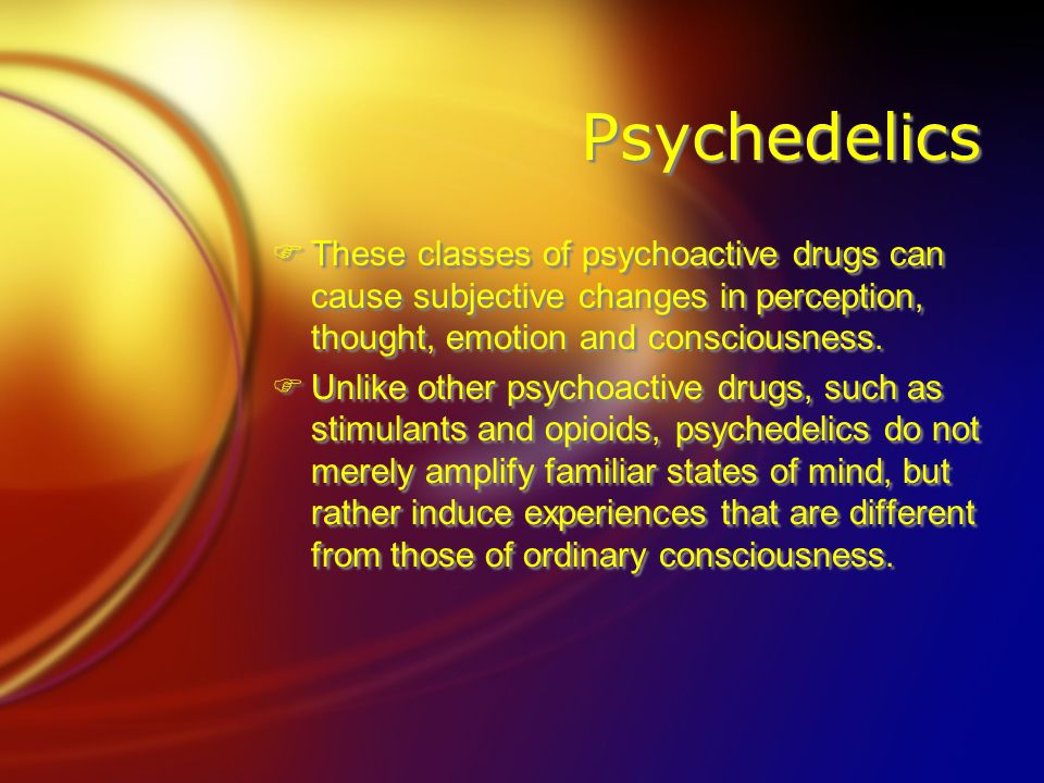 Medicinal Possibilities and Uses  University of Baltimore scientists are examining LSD as a possible treatment for addiction to … Fheroin Fopium Falcohol Fsedative hypnotics.
