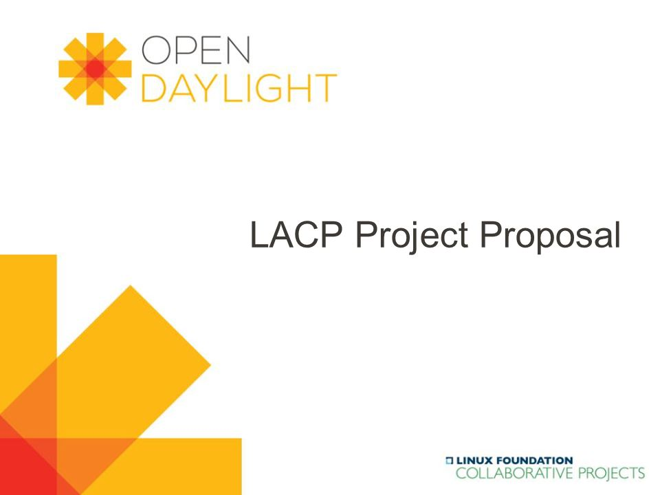 www.opendaylight.org LACP Project Proposal