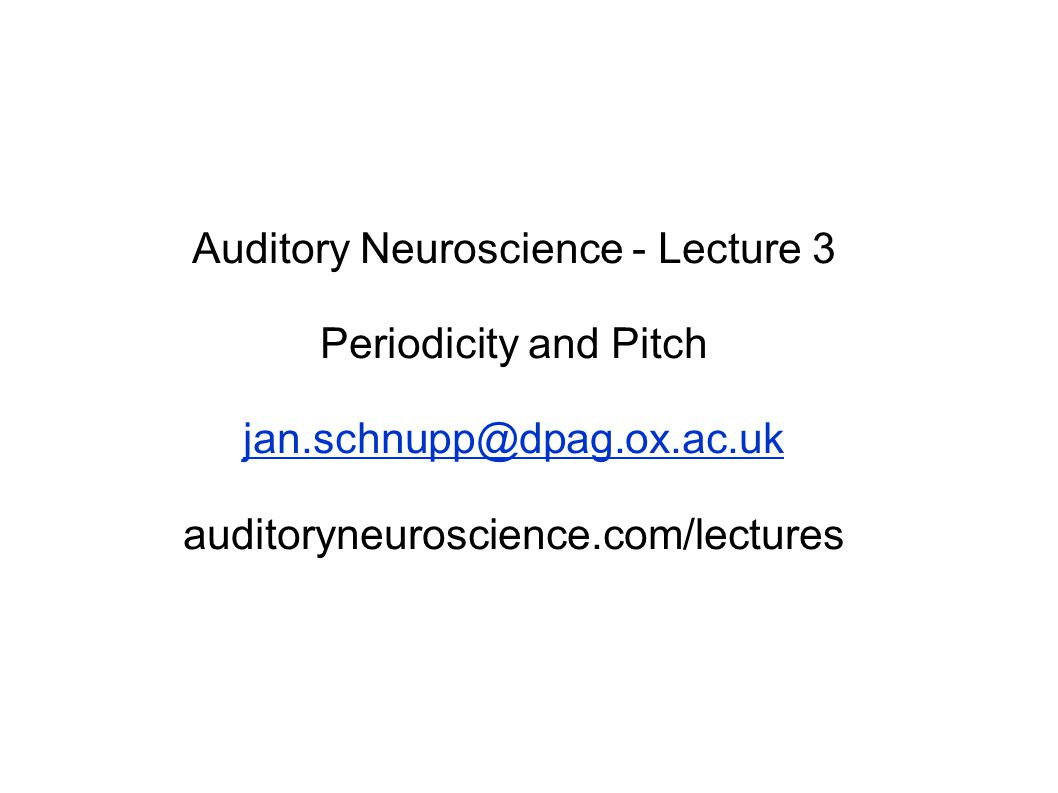 Pitch The American National Standards Institute (ANSI, 1994) defines pitch as that auditory attribute of sound according to which sounds can be ordered on a scale from low to high. … But which way is up?