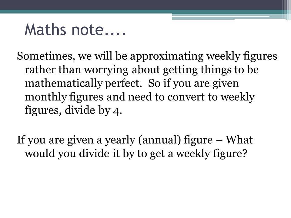 Maths note....
