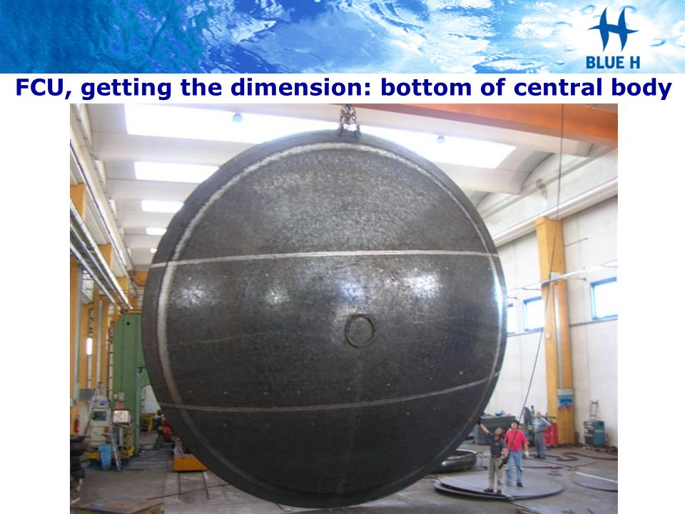 FCU, getting the dimension: bottom of central body