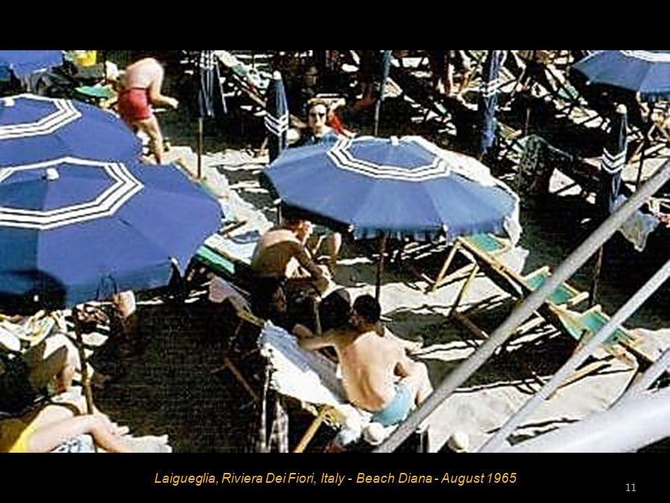 Laigueglia, Riviera Dei Fiori, Italy - August 1965 10