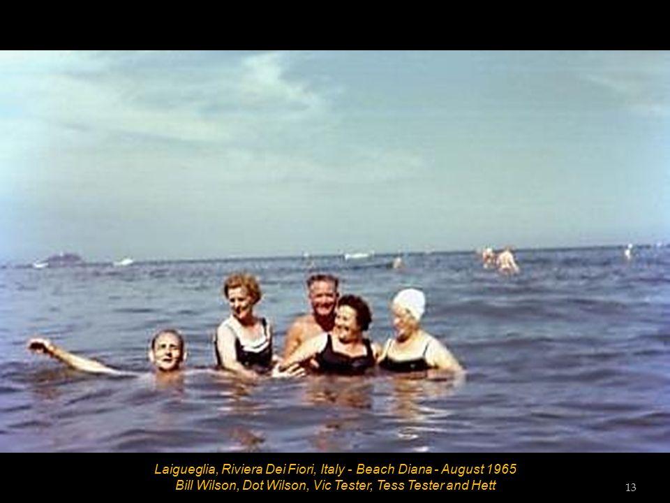 Laigueglia, Riviera Dei Fiori, Italy - Promenade - August 1965 12