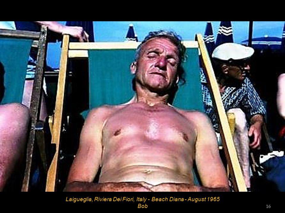 Laigueglia, Riviera Dei Fiori, Italy - Beach Diana - August 1965 15