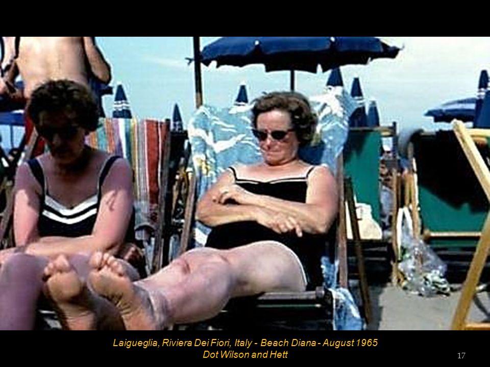 Laigueglia, Riviera Dei Fiori, Italy - Beach Diana - August 1965 Bob 16