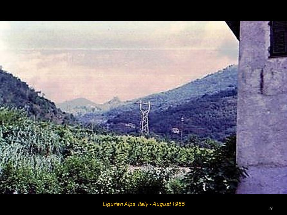 Laigueglia, Riviera Dei Fiori, Italy - August 1965 18