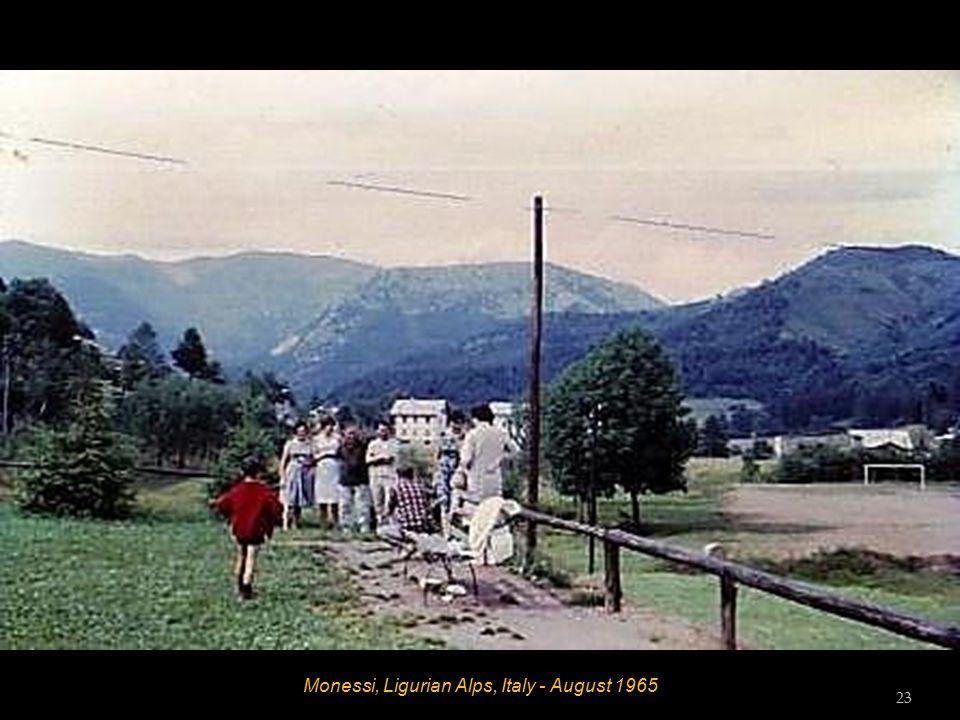 Ligurian Alps, Italy - August 1965 22