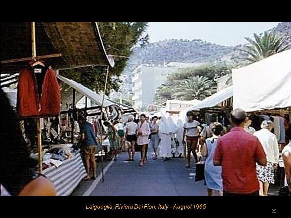 Laigueglia, Riviera Dei Fiori, Italy - August 1965 24