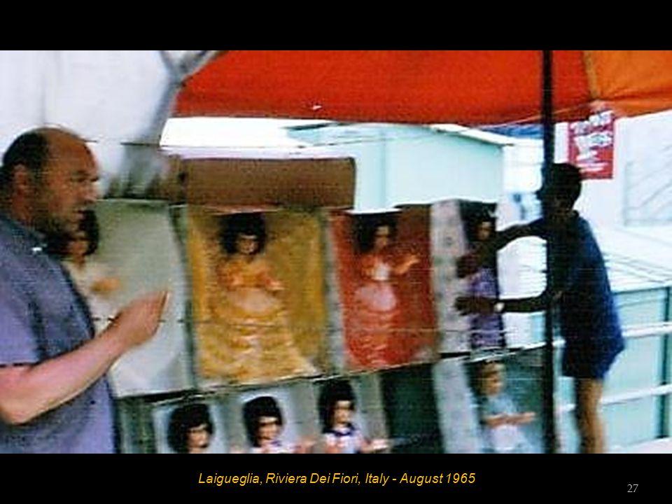 Laigueglia, Riviera Dei Fiori, Italy - August 1965 Hett 26