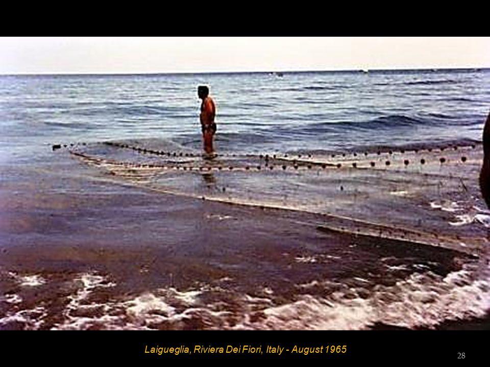 Laigueglia, Riviera Dei Fiori, Italy - August 1965 27