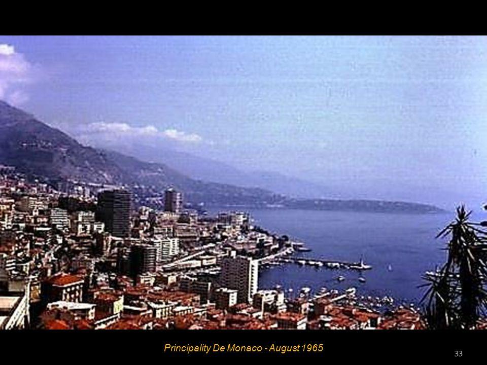 Principality De Monaco - August 1965 32