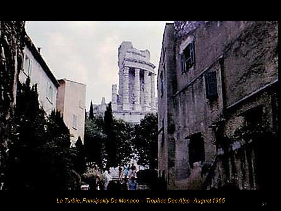 Principality De Monaco - August 1965 33