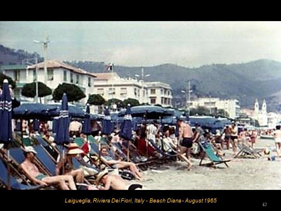 Laigueglia, Riviera Dei Fiori, Italy - Berach Diana - August 1965 41
