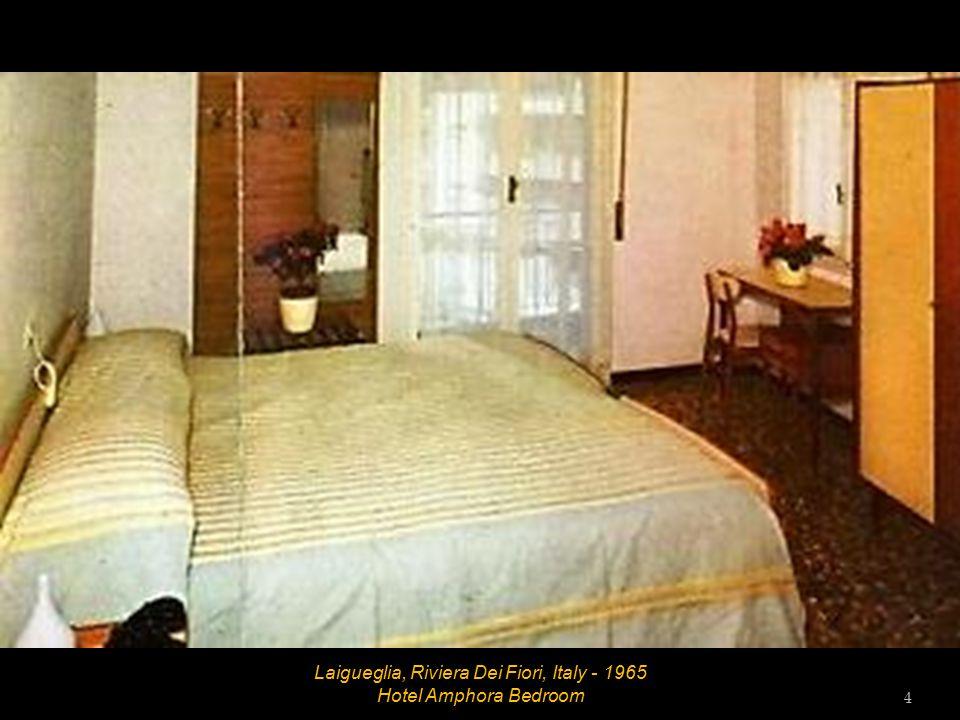Laigueglia, Riviera Dei Fiori, Italy - 1965 Hotel Amphora Dining Room 3