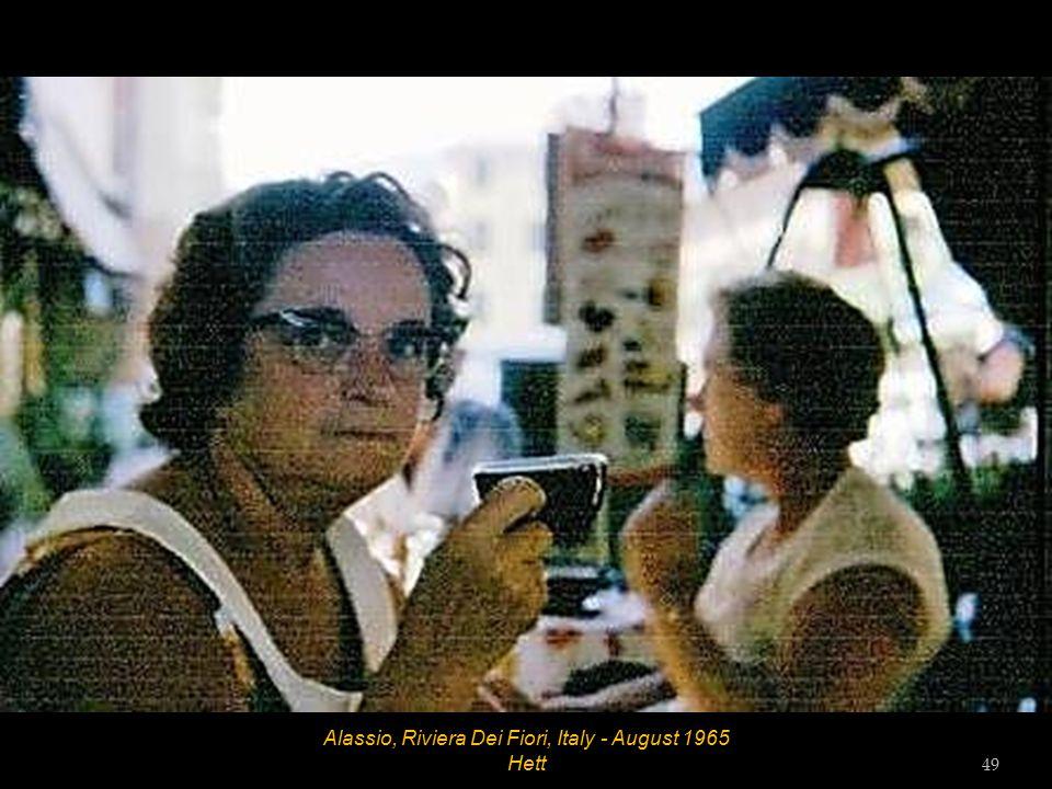 Alassio, Riviera Dei Fiori, Italy - August 1965 Hett 48