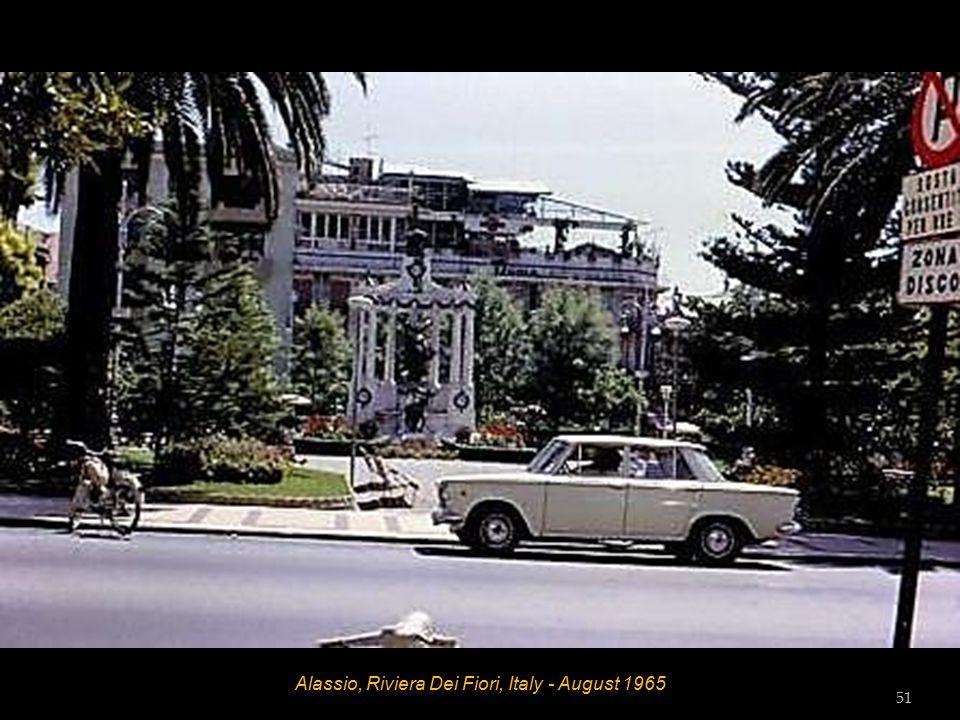 Alassio, Riviera Dei Fiori, Italy - August 1965 50