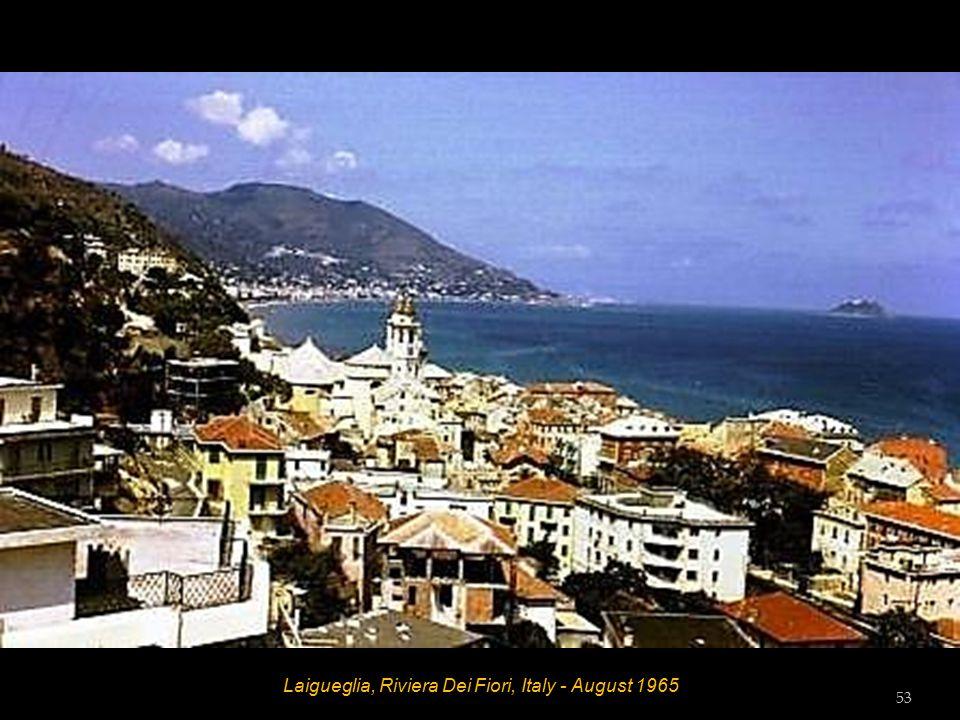 Laigueglia, Riviera Dei Fiori, Italy - Hotel Amphora - August 1965 Hett, Bill Wilson Dot Wilson, Tess Tester and Vic Tester 52
