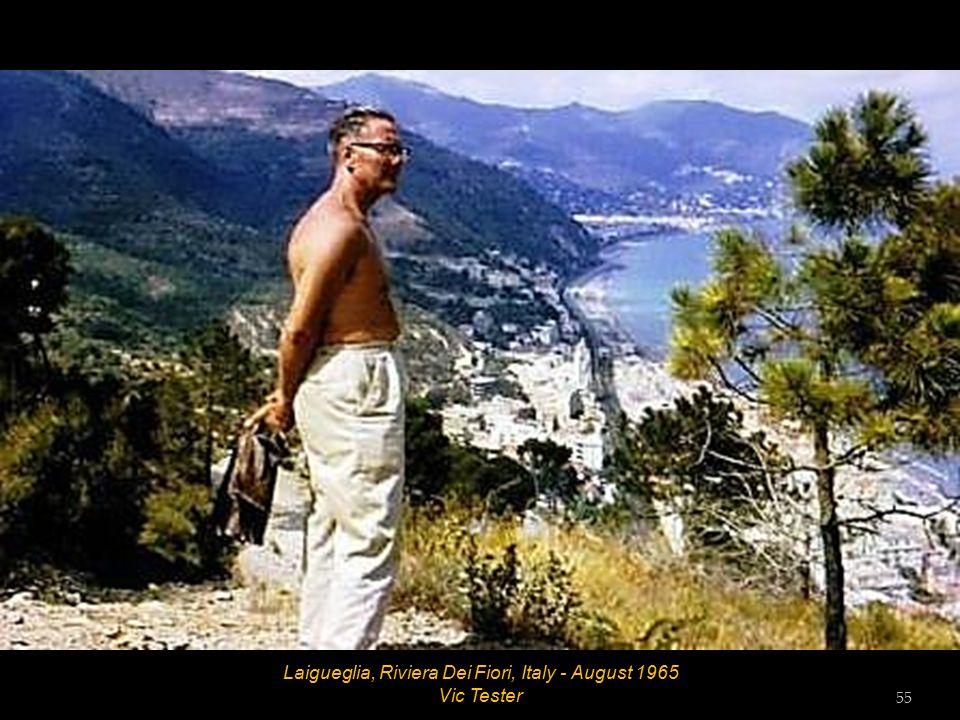 Laigueglia, Riviera Dei Fiori, Italy - August 1965 54