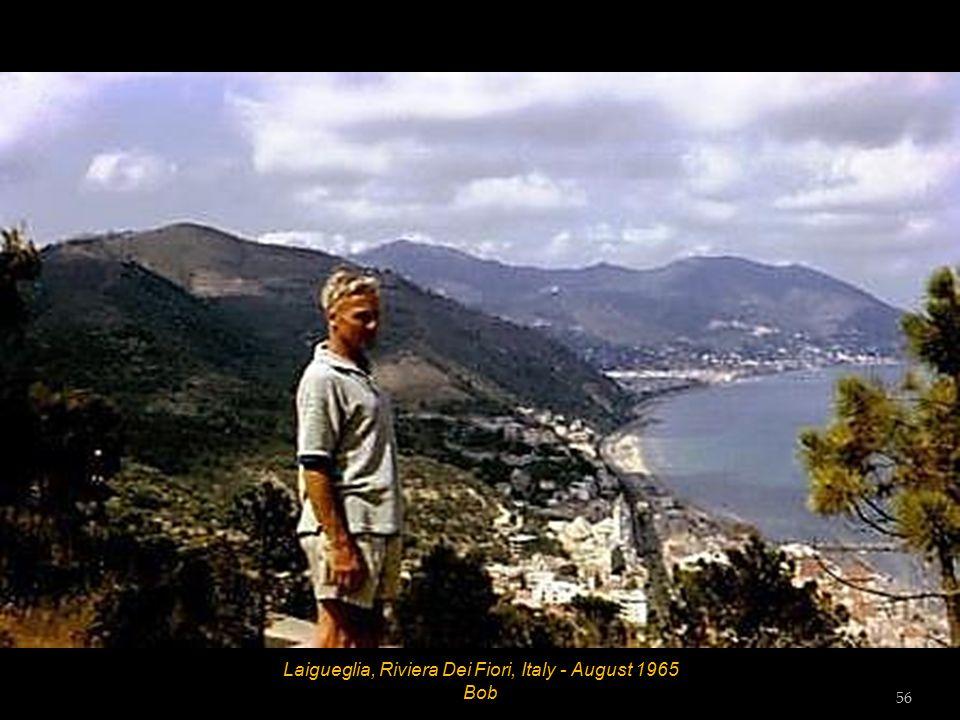 Laigueglia, Riviera Dei Fiori, Italy - August 1965 Vic Tester 55
