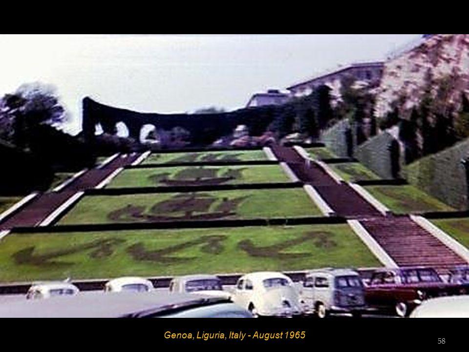 Laigueglia, Riviera Dei Fiori, Italy - August 1965 57
