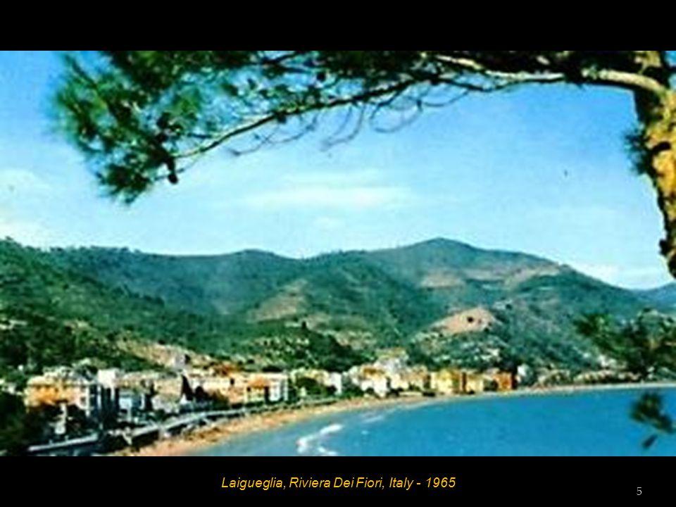 Laigueglia, Riviera Dei Fiori, Italy - 1965 Hotel Amphora Bedroom 4