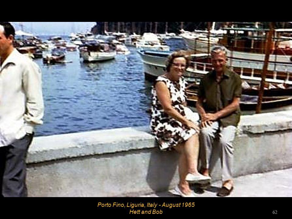 Rapallo, Liguria, Italy - August 1965 61