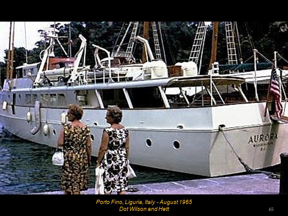 Porto Fino, Liguria, Italy - August 1965 64