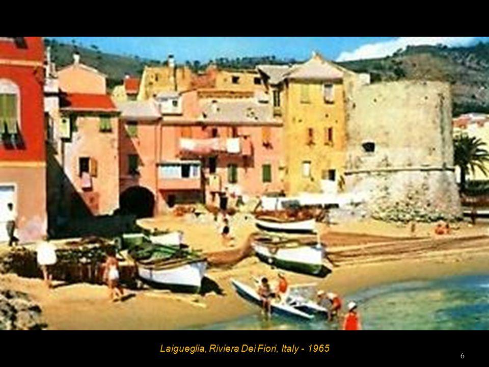 Laigueglia, Riviera Dei Fiori, Italy - 1965 5