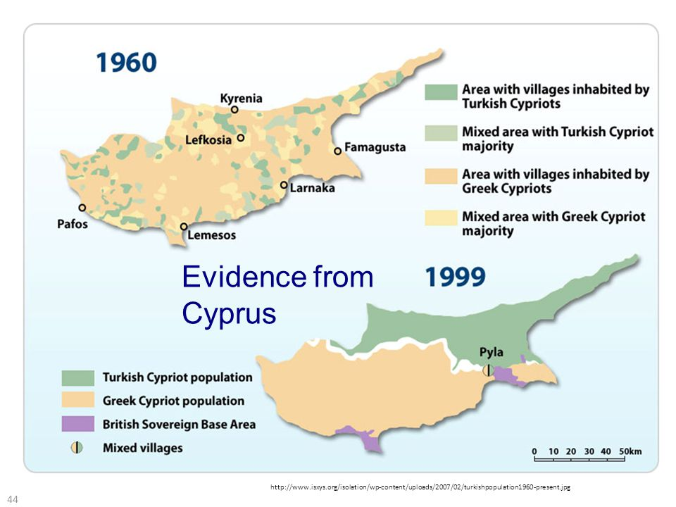 44   Evidence from Cyprus