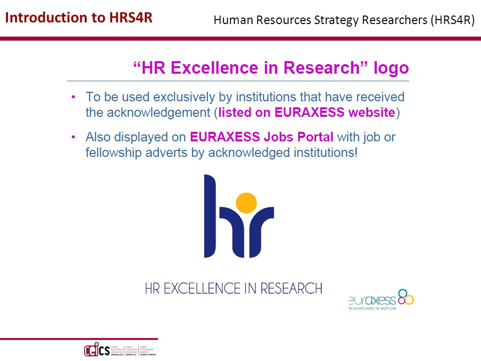 Introduction to HRS4R Human Resources Strategy Researchers (HRS4R)