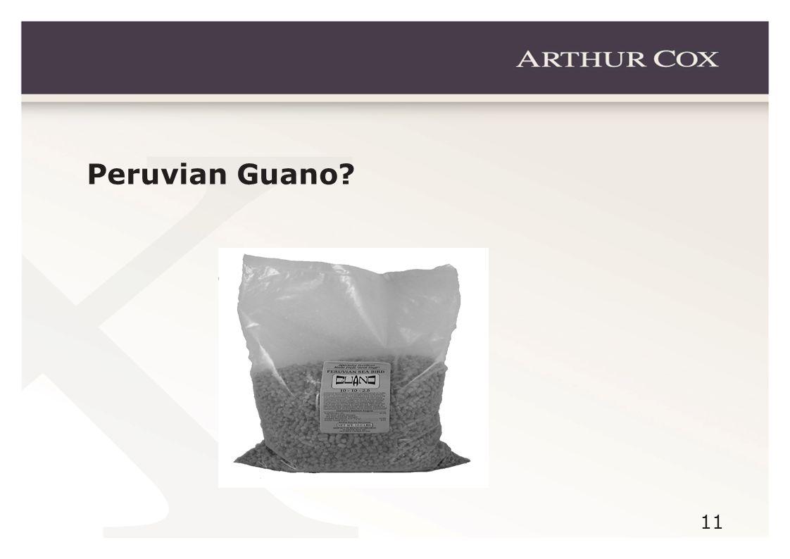 11 Peruvian Guano?