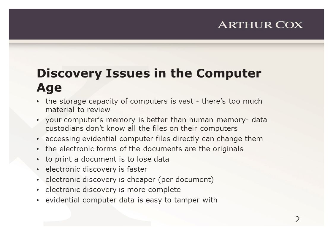 13 Electronic Discovery Reference Model – www.edrm.com