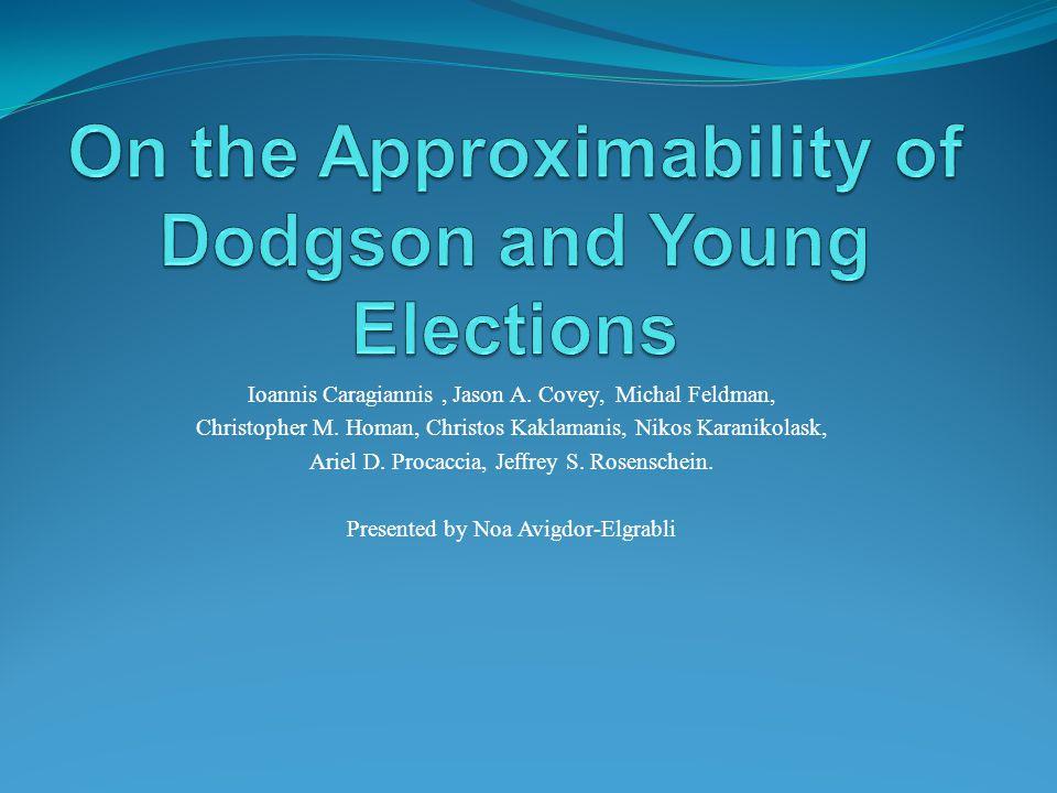 Ioannis Caragiannis, Jason A. Covey, Michal Feldman, Christopher M.